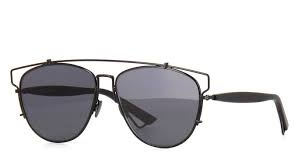 Christian Dior - Occhiale da Sole Donna, Dior Technologic, Black/Dark Grey (65Z/2K)