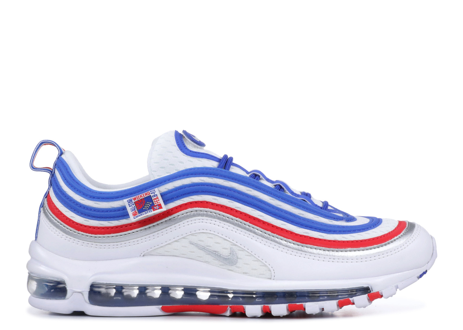 SNEAKERS NIKE AIR MAX 97 PEARL WHITE/RED/BLUE 921826/404
