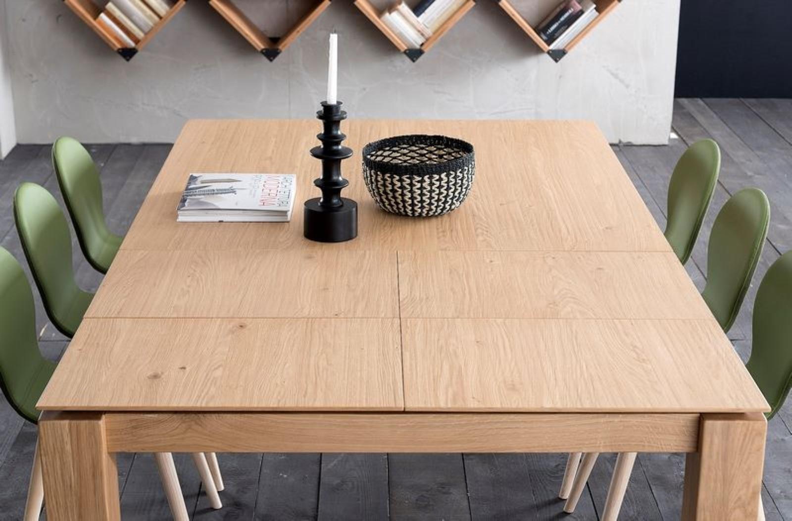 Tavolo quadrato allungabile Santiago