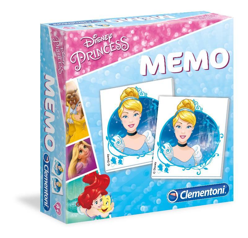MEMO GAMES PRINCESS 18009 CLEMENTONI