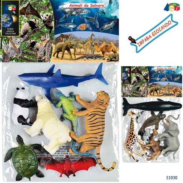 BUSTA  ANIMALI DA SALVARE ASS 51030 GINMAR srl