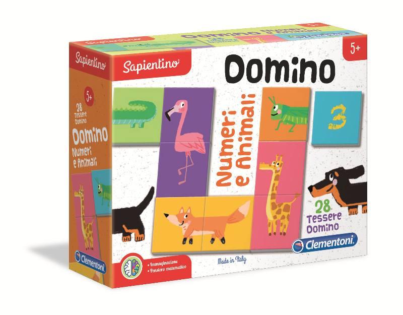 DOMINO ANIMALI E NUMERI 16121 CLEMENTONI