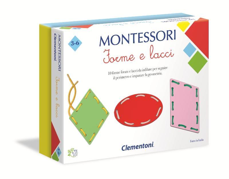 MONTESSORI - FORME E LACCI 16102 CLEMENTONI