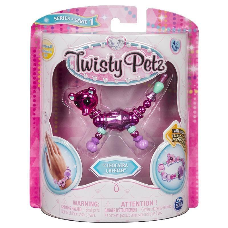 TWISTY PETZ BACCIALETTI PERLE ANIMALI SINGOL P. 6044770 SPIN MASTER new