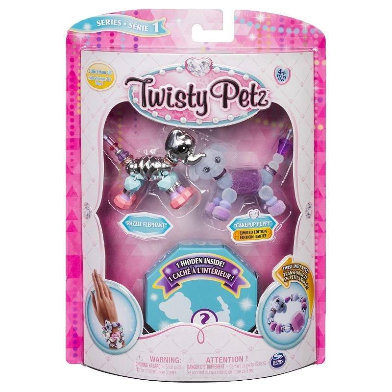 TWISTY PETZ BACCIALETTI PERLE ANIMALI 3PACK 6044203 SPIN MASTER new