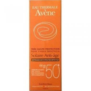 AVENE eau thermale crema solare viso anti age 50+ protezione alta 50 ml
