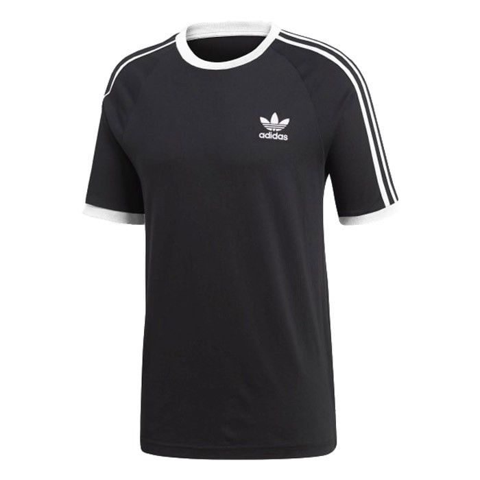 T-SHIRT ADIDAS CW1202 3-STRIPES TEE BLACK