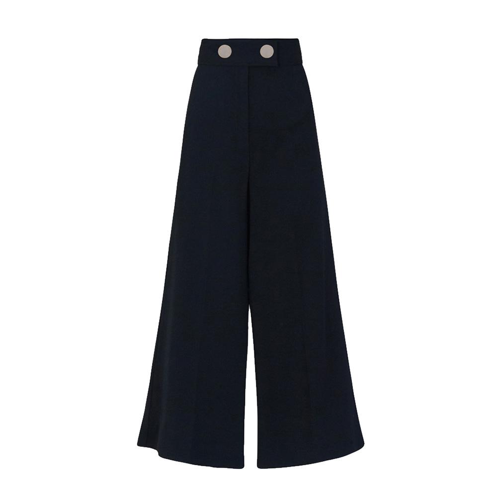 Pantalone nero vita alta - SPACE SIMONA CORSELLINI