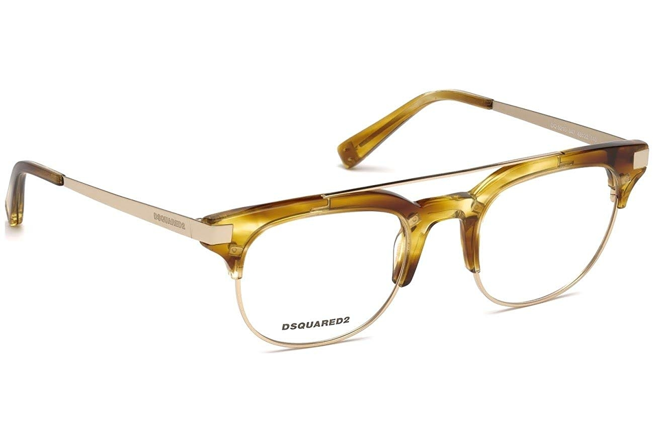Dsquared2 - Occhiale da Vista Donna, Dsquared2 DQ, Blonde Havana Gold 5210 C48