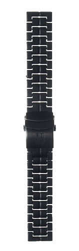 Cinturino braccialato in Carbonox - 23 mm