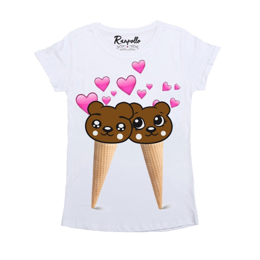 T-shirt Gelati Orsi - RANPOLLO