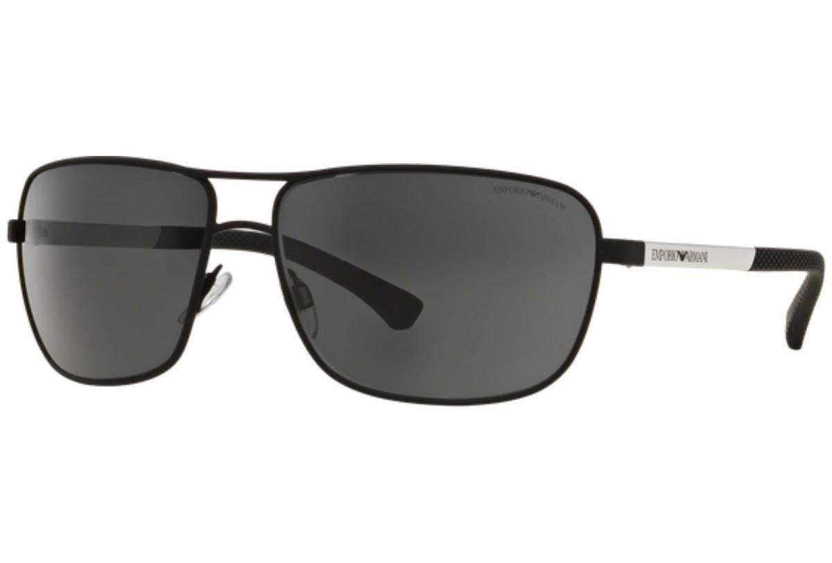 Emporio Armani - Occhiale da Sole Uomo, Grey/Black EA033 309487 C64