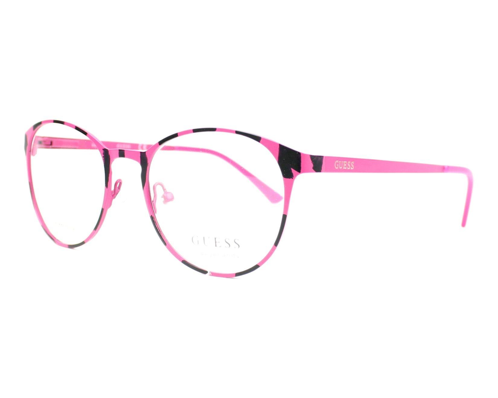 Guess - Occhiale da Vista Donna, Matte Pink GU 3011 074 C50
