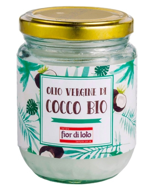 Olio vergine di cocco Bio 180 gr