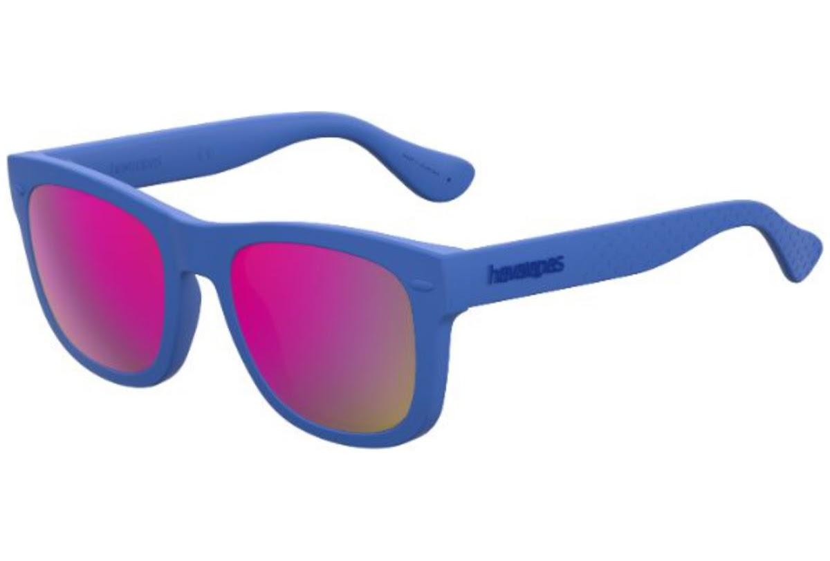 Havaianas - Occhiale da Sole Unisex Bambino, Paraty's, Blu/Mirror Red GEG/VQ C48