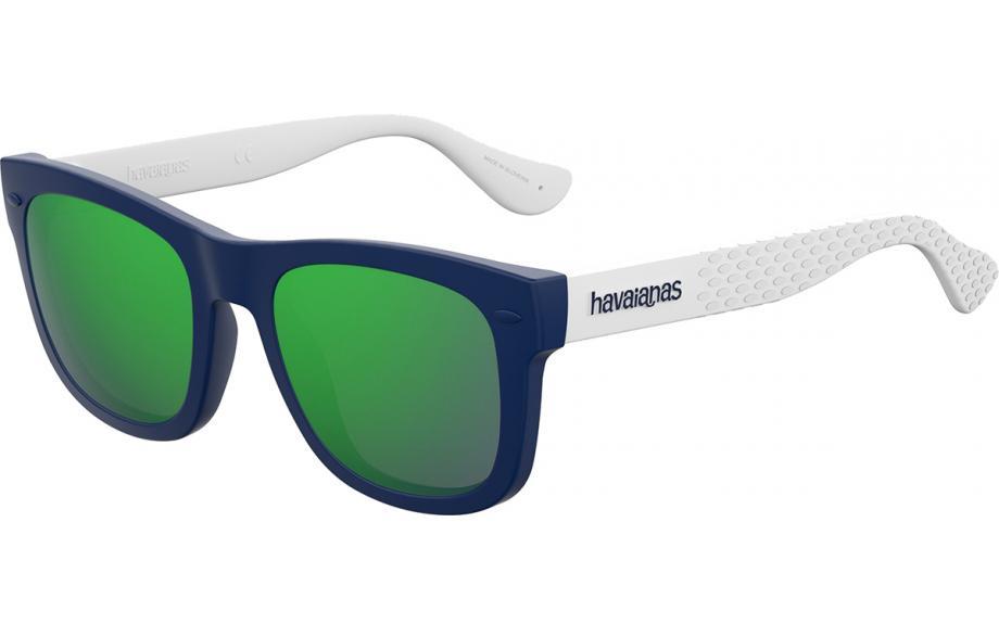 Havaianas - Occhiale da Sole Unisex Kids, Paraty/S, Bluette White/Mirror Green QMB Z9 C48