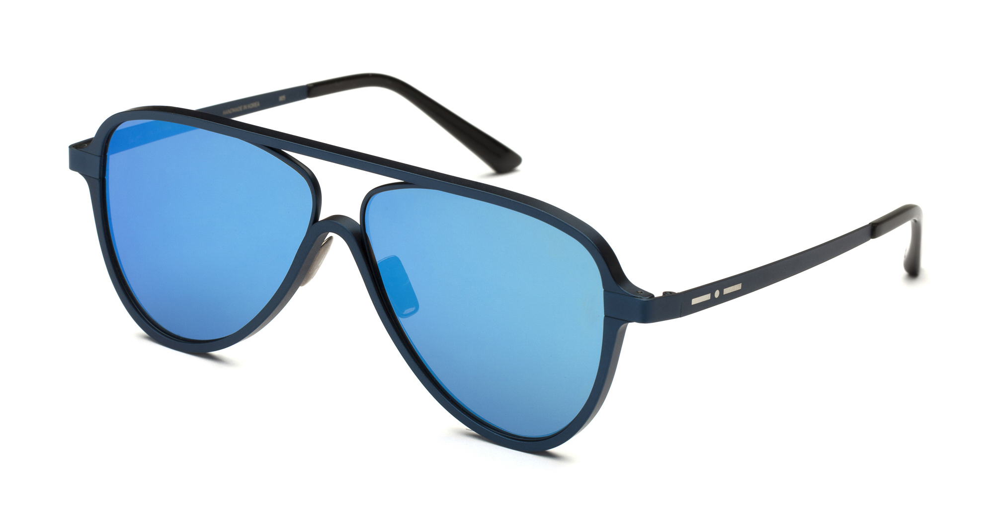 Italia Independent - Occhiale da Sole Unisex, Ayrton Laps Collection, Light Blue/Polarized Blue 003LP C55
