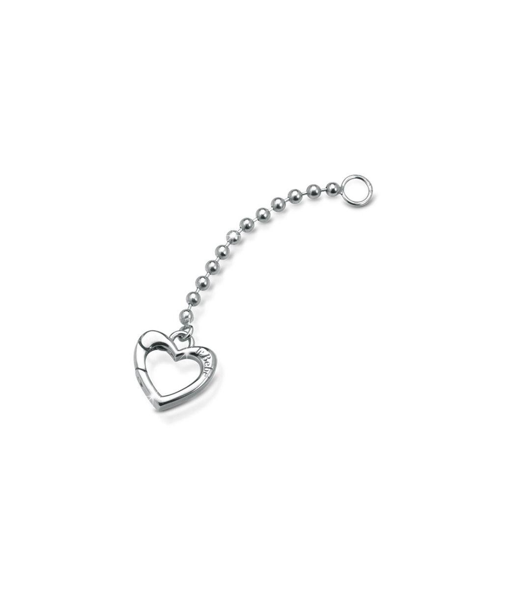 Elemento aggiuntivo versione a Y con moschettone in argento per Collana Lock Your Love