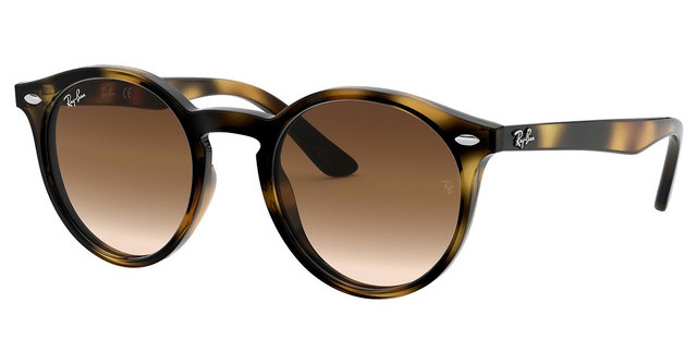 Ray Ban - Occhiale da Sole Unisex Junior, Dark Havana/Shaded Brown RJ9064S 152/13 C44