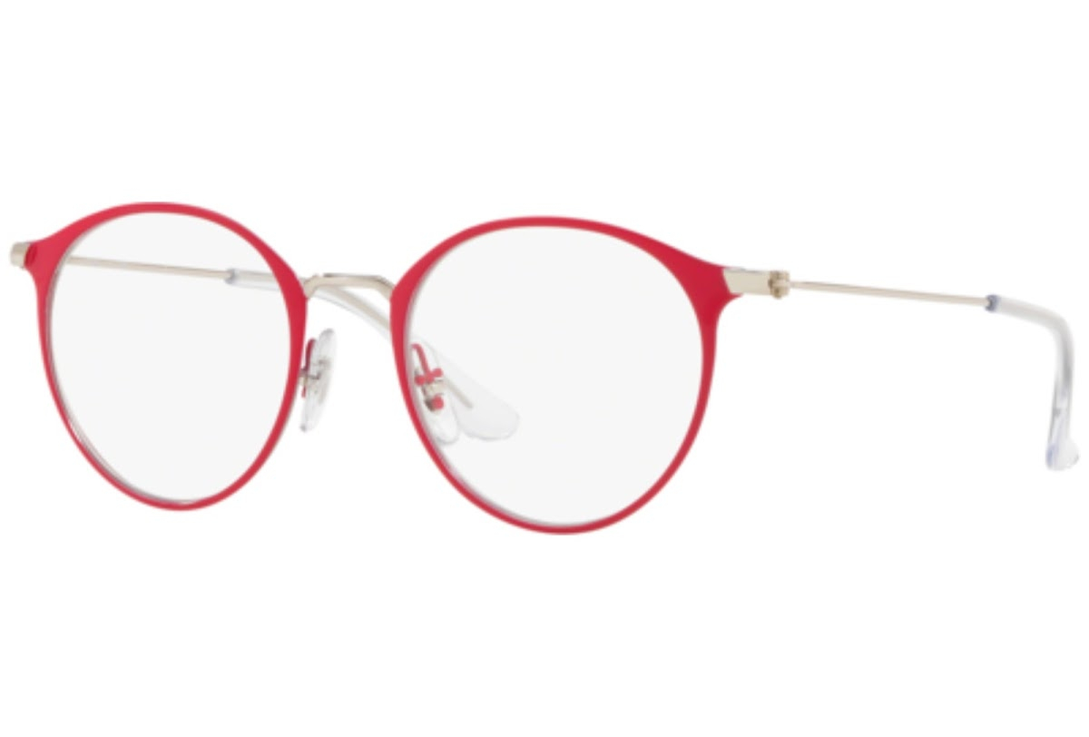 Ray Ban - Occhiale da Vista Unisex Kids, Junior Optical, Matte Red RY1053 4066 C45