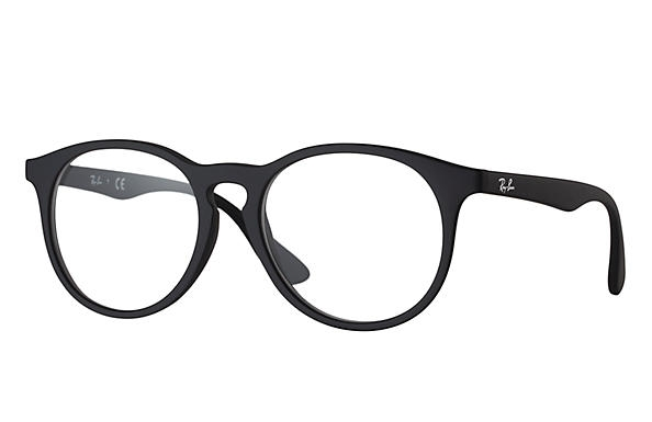 Ray Ban - Occhiale da Vista Unisex Kids, Junior Optical, Rubber Black RY1554 3615 C48