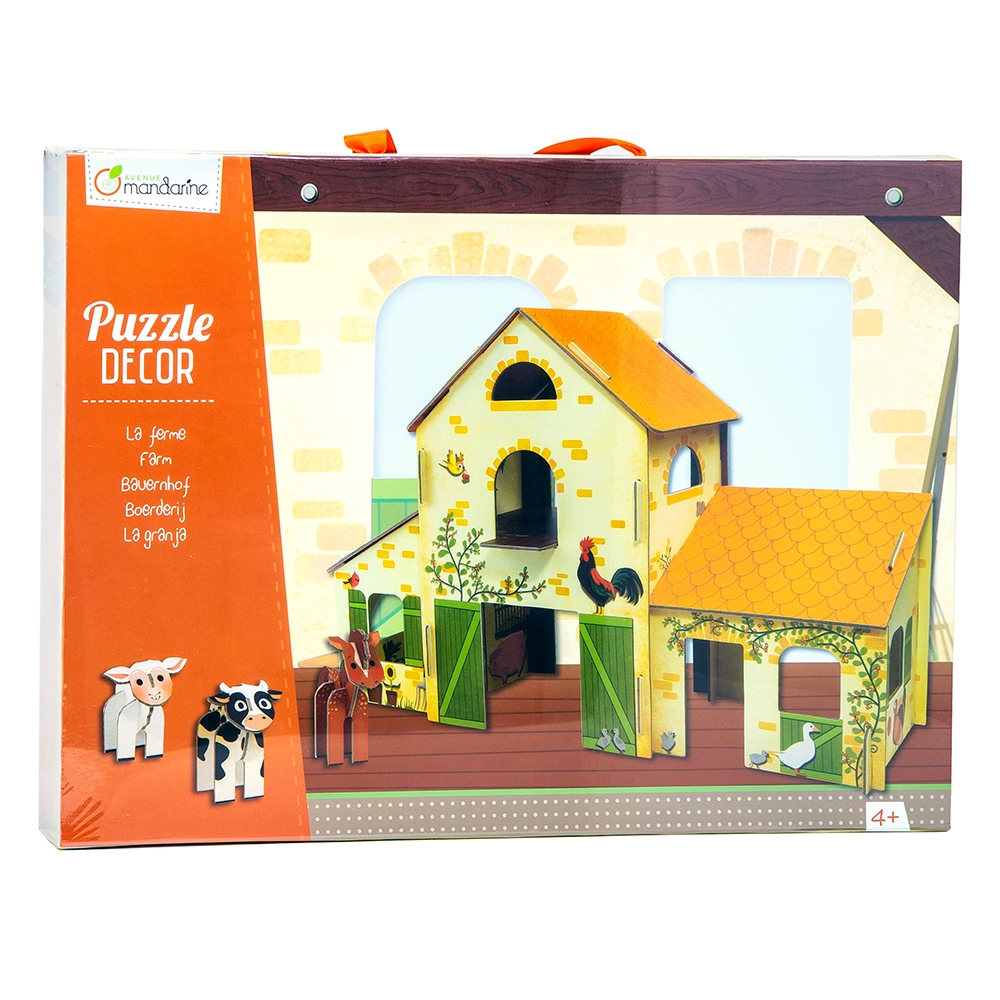 Puzzle 3D Farmhouse Decor - Mandarine Avenue