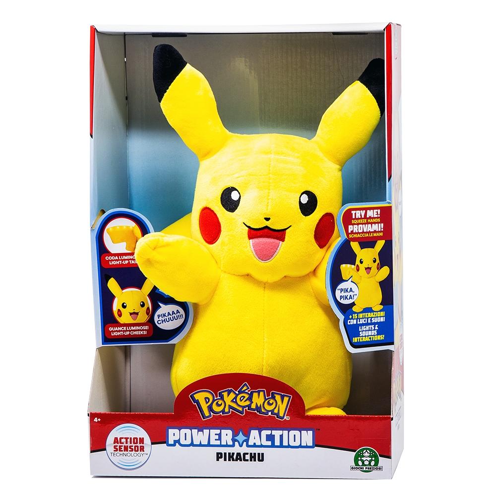 Pokemon Pikachu Interattivo Luci E Suoni - Giochi Preziosi