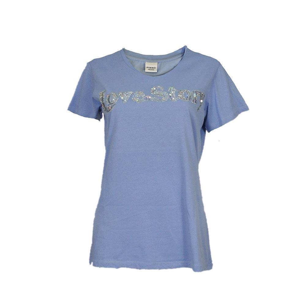 T-shirt color carta da zucchero - PINKO