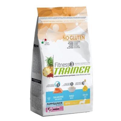 Trainer Fitness 3 Puppy & Junior Mini Salmone No Gluten