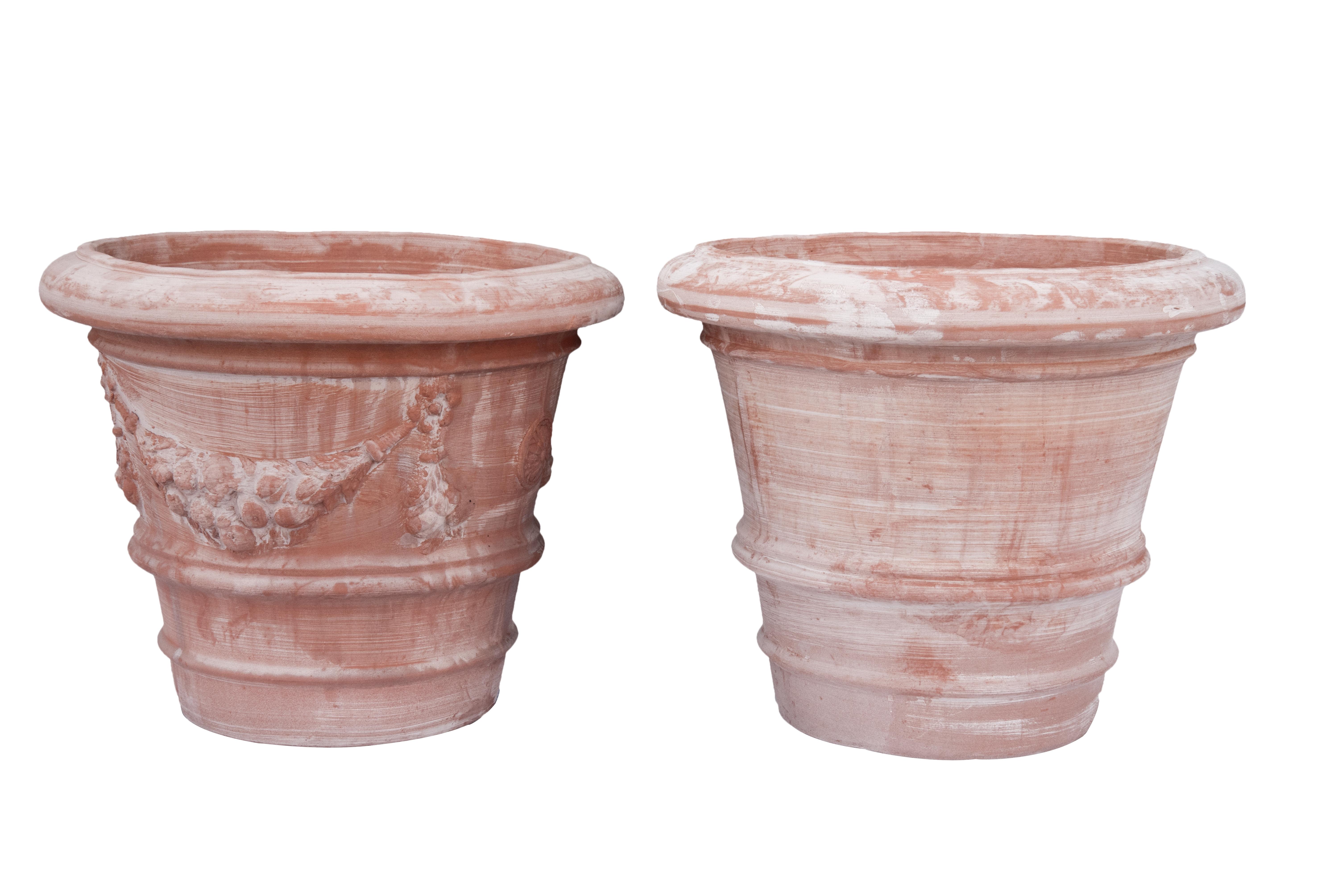 Vaso Pienza in Terracotta
