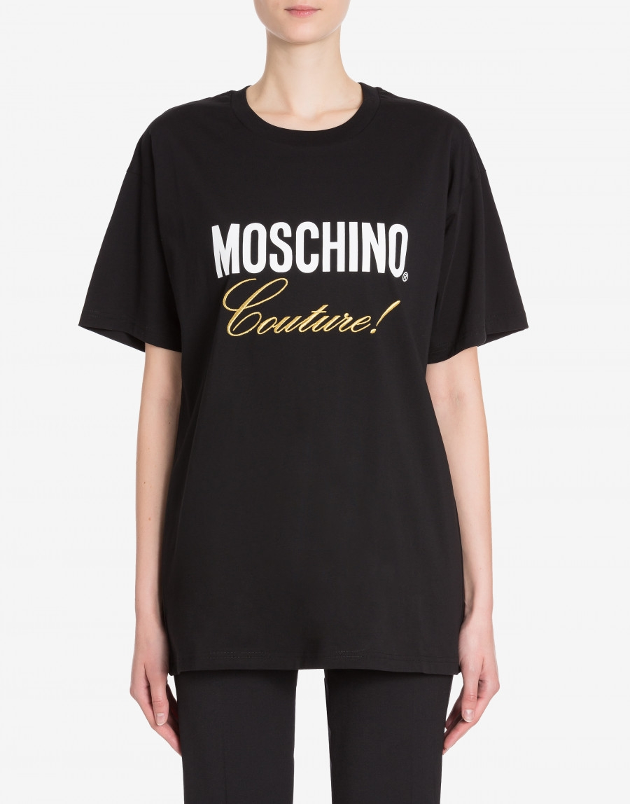 T-shirt in jersey Moschino Couture