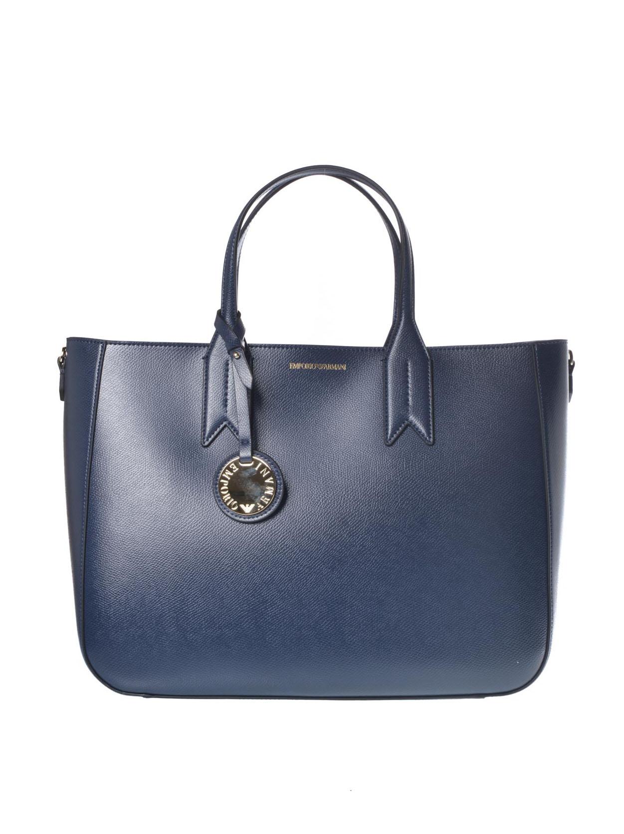 9786bf184b Borsa donna Emporio Armani con charm blu   RoncaStyle