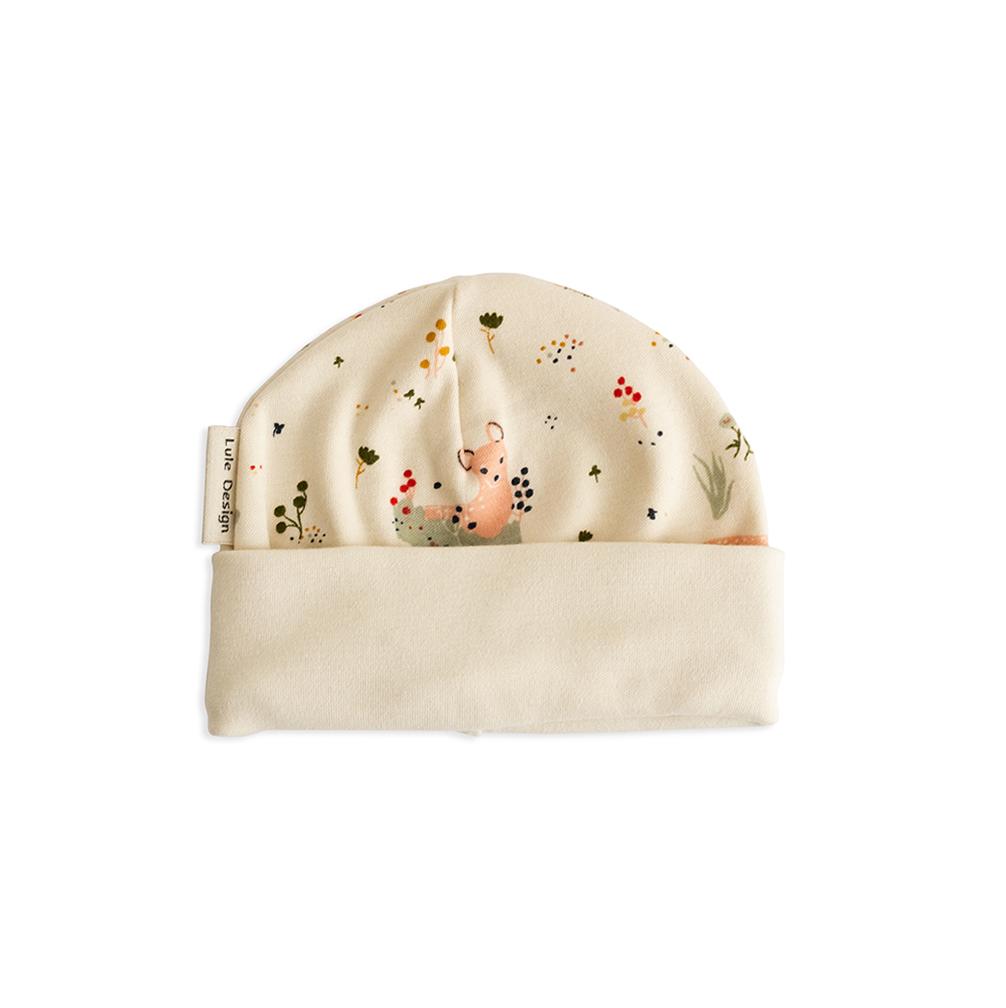 Cappellino bambi in cotone biologico