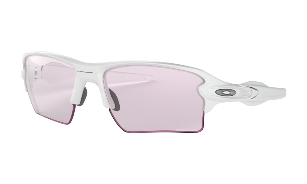 Oakley - Occhiale da Sole Unisex, Flak 2.0 XL, Polished White/Prizm Low Light  OO9295 918888 C59