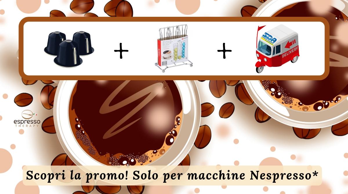200 capsule compatibili nespresso omaggio porta capsule 30 posti