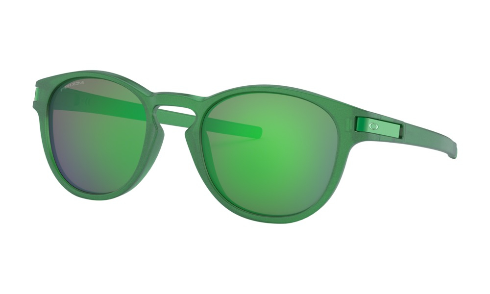 Oakley - Occhiale da Sole Uomo, Latch Spectrum Collection, Gamma Green/Prizm Jade  OO9265 926523 C53