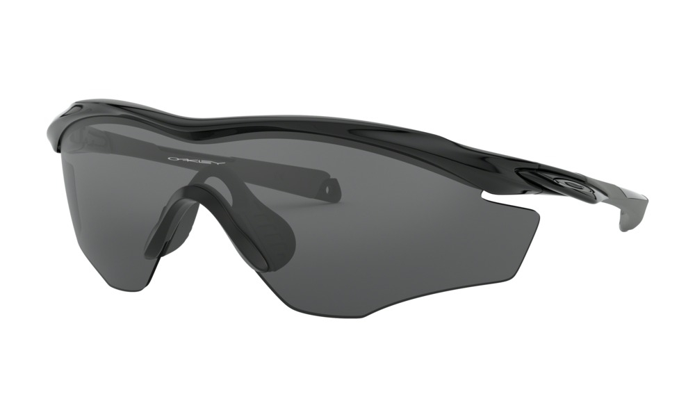 Oakley - Occhiale da Sole Uomo, M2™ Frame XL, Polished Black/Grey  OO9343 934301  C145