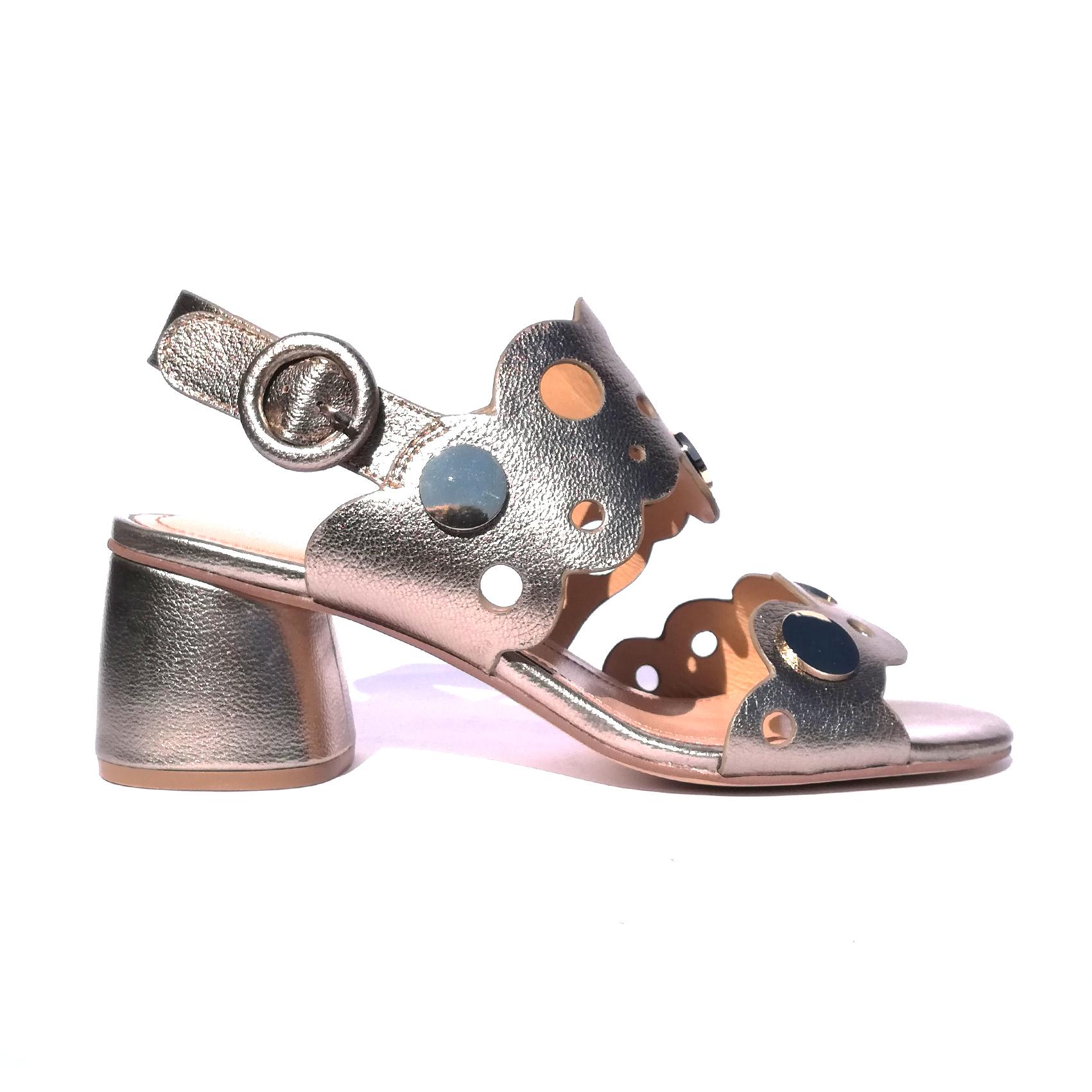 Sandalo platino Adele Dezotti
