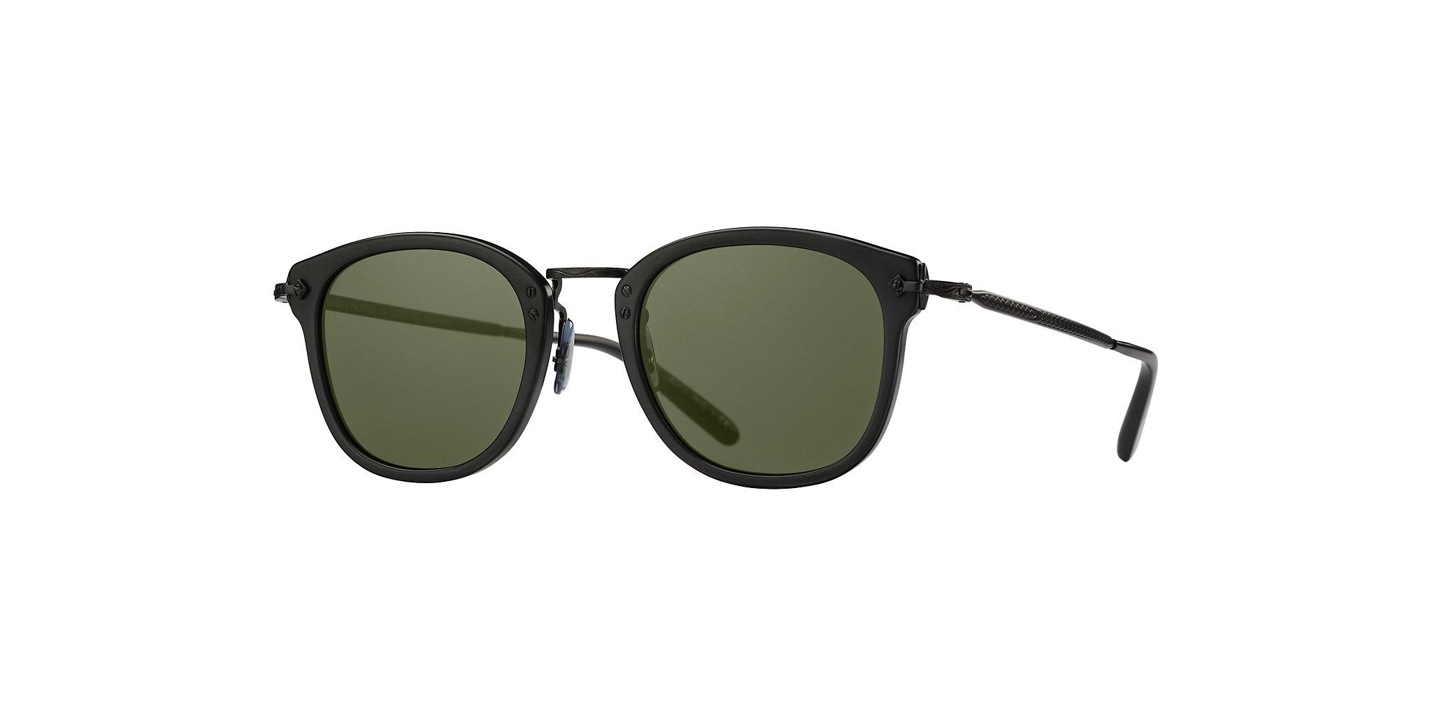 Oliver People's - Occhiale da Sole Unisex, OP-506 Sun, Semi-matte Black/G-15 Matte Black OV5350S 1465/52 C49