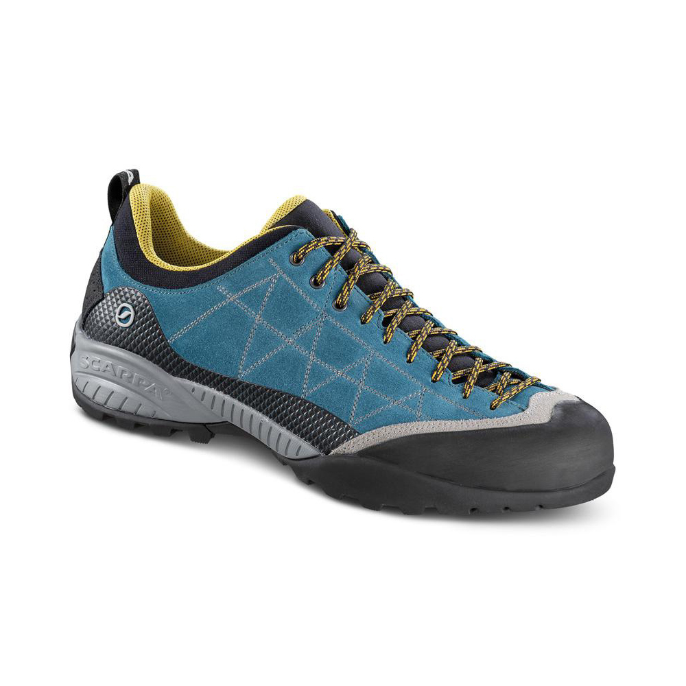 c650df55c Zen Pro lake blue/mustard - scarpe per ferrata - SCARPA