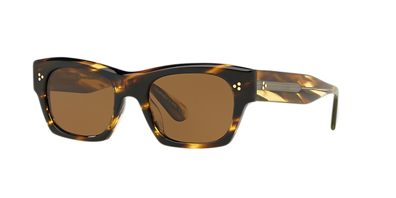 Oliver People's - Occhiale da Sole Unisex, Isba, Cocobolo/Brown Polarized OV5376SU 1003/57 C51