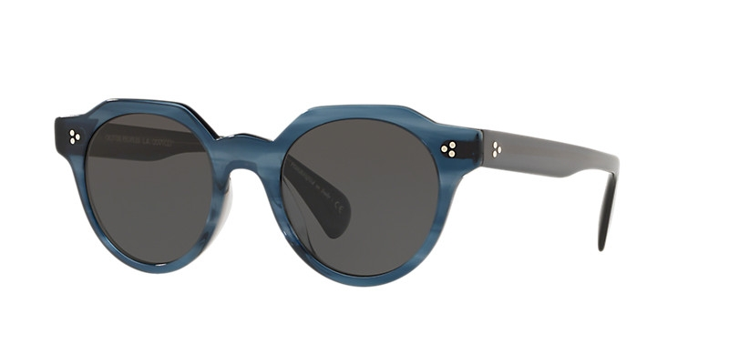 Oliver People's - Occhiale da Sole Unisex, Irven, Indigo Havana/Grey Shaded OV5378SU 1662/87 C50