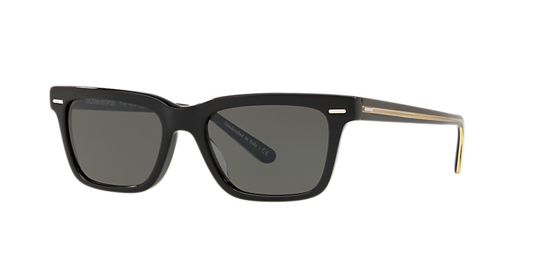 Oliver People's - Occhiale da Sole Uomo, BA CC, Black/Carbon Grey OV5388SU 1005/R5 C52