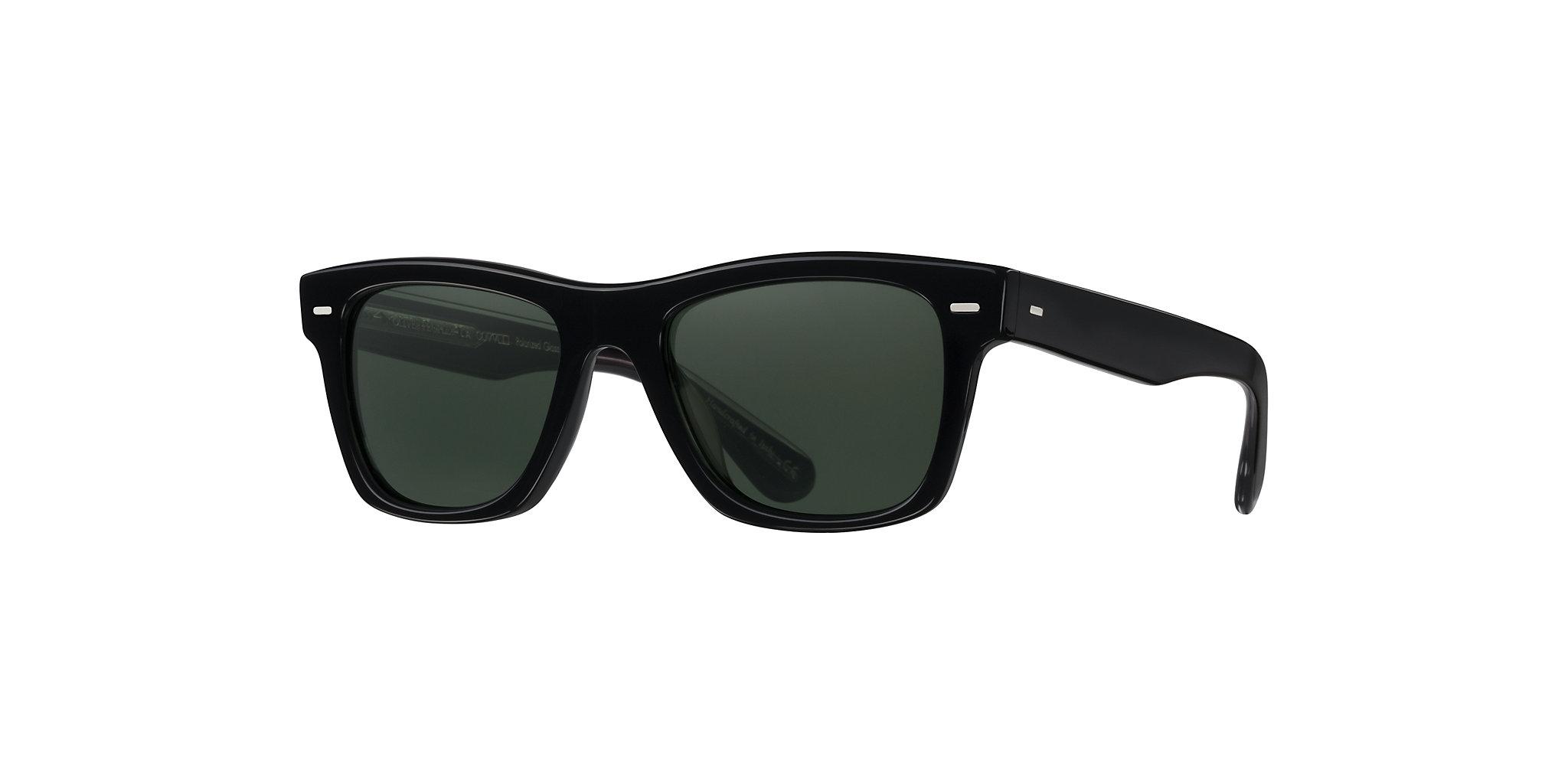 Oliver People's - Occhiale da Sole Unisex, Oliver Sun, Black/G-15 Polarized  OV5393SU 1492/P1 C51