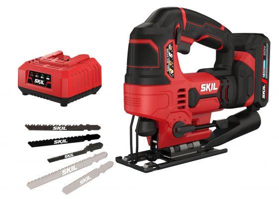 SKIL 3420 AA Seghetto alternativo a batteria con accessori