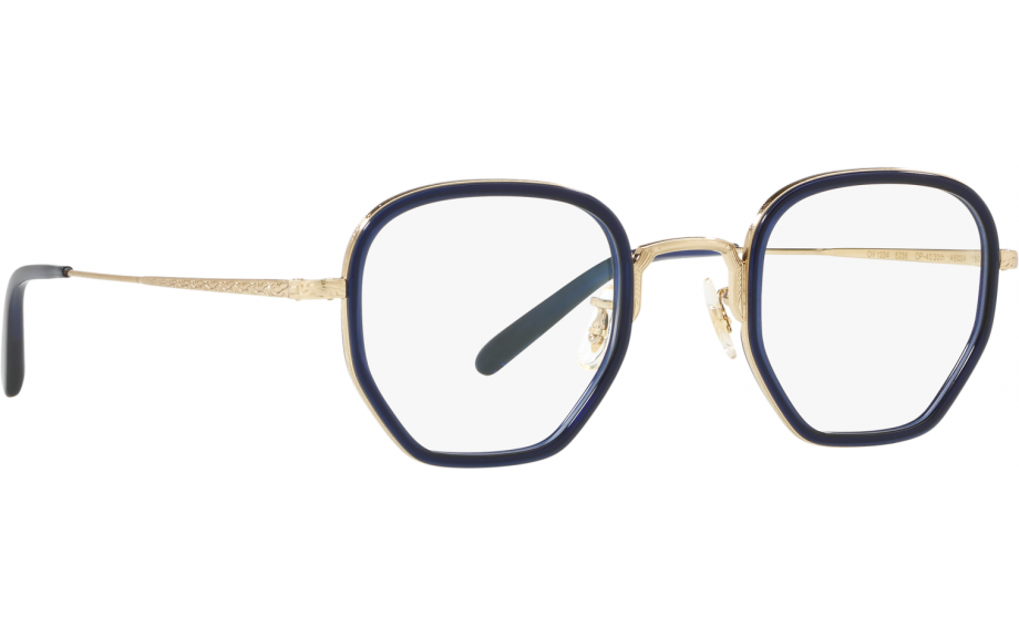 Oliver People's - Occhiale da Vista Unisex, OP-40 30TH, Denim/Brushed Gold OV1234 5236  C46