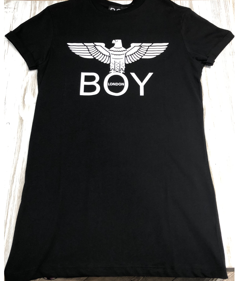 Abito Jersey Boy London G/CM/M +Stampa Nero BLD1786