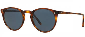 Oliver People's - Occhiale da Sole Unisex, The Row O'Malley NYC, Tortoise/Blue Shaded OV 5183SM 1556/R5  C48