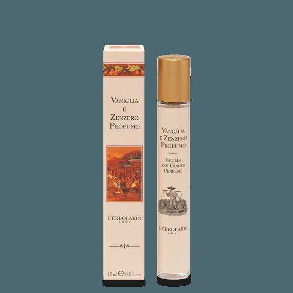 Collezione Profumi Vaniglia e Zenzero 15 ml