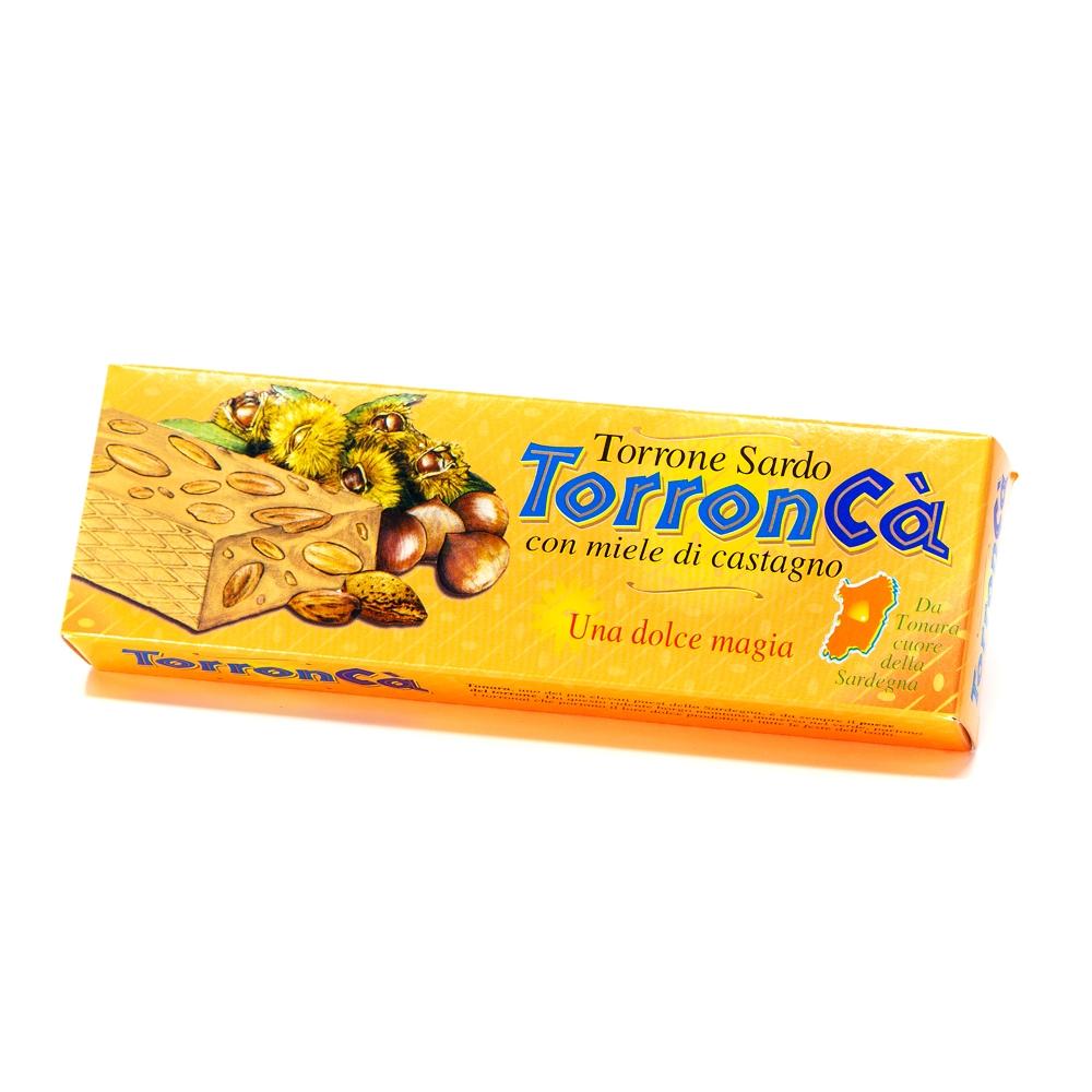 Torronca' – Stecca torrone mandorle con miele di castagno 100 g